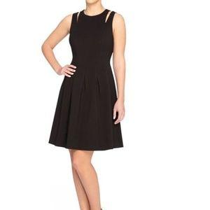 Black Fit & Flare Dress Catherine Malandrino